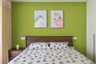 120平北欧风卧室装修效果图