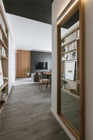 北歐風兩居室玄關裝修效果圖