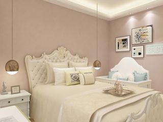 80平歐式風格臥室裝修效果圖