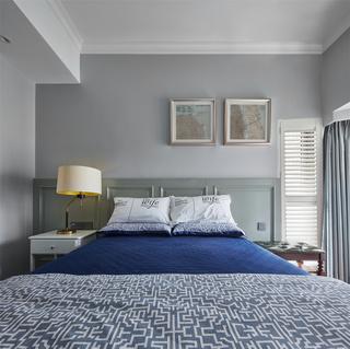 128m²美式风格卧室装修效果图