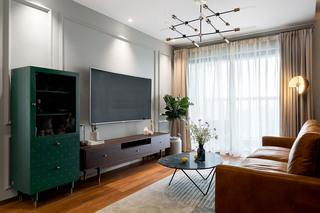 85平米复古风电视墙每日首存送20