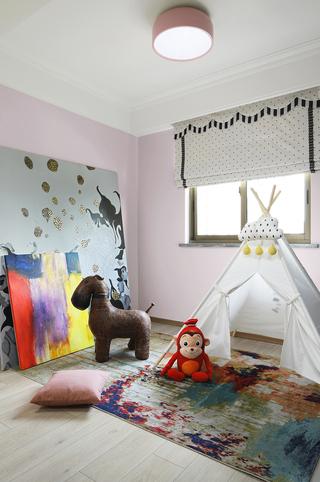 148m²现代简约风儿童房每日首存送20