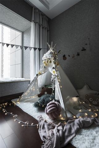 北欧风格三居儿童房装修效果图