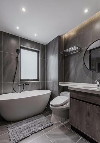 现代风格两居卫生间装修效果图