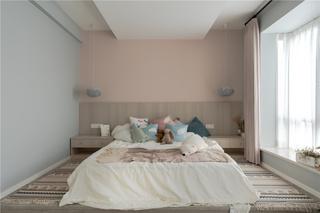 128m²简约北欧风儿童房装修效果图