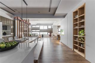 现代日式风格餐厅装修效果图