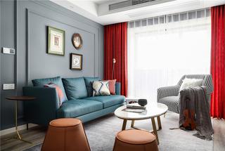 89m²两居室装修效果图