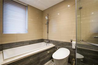 美式轻奢三居室卫生间装修效果图