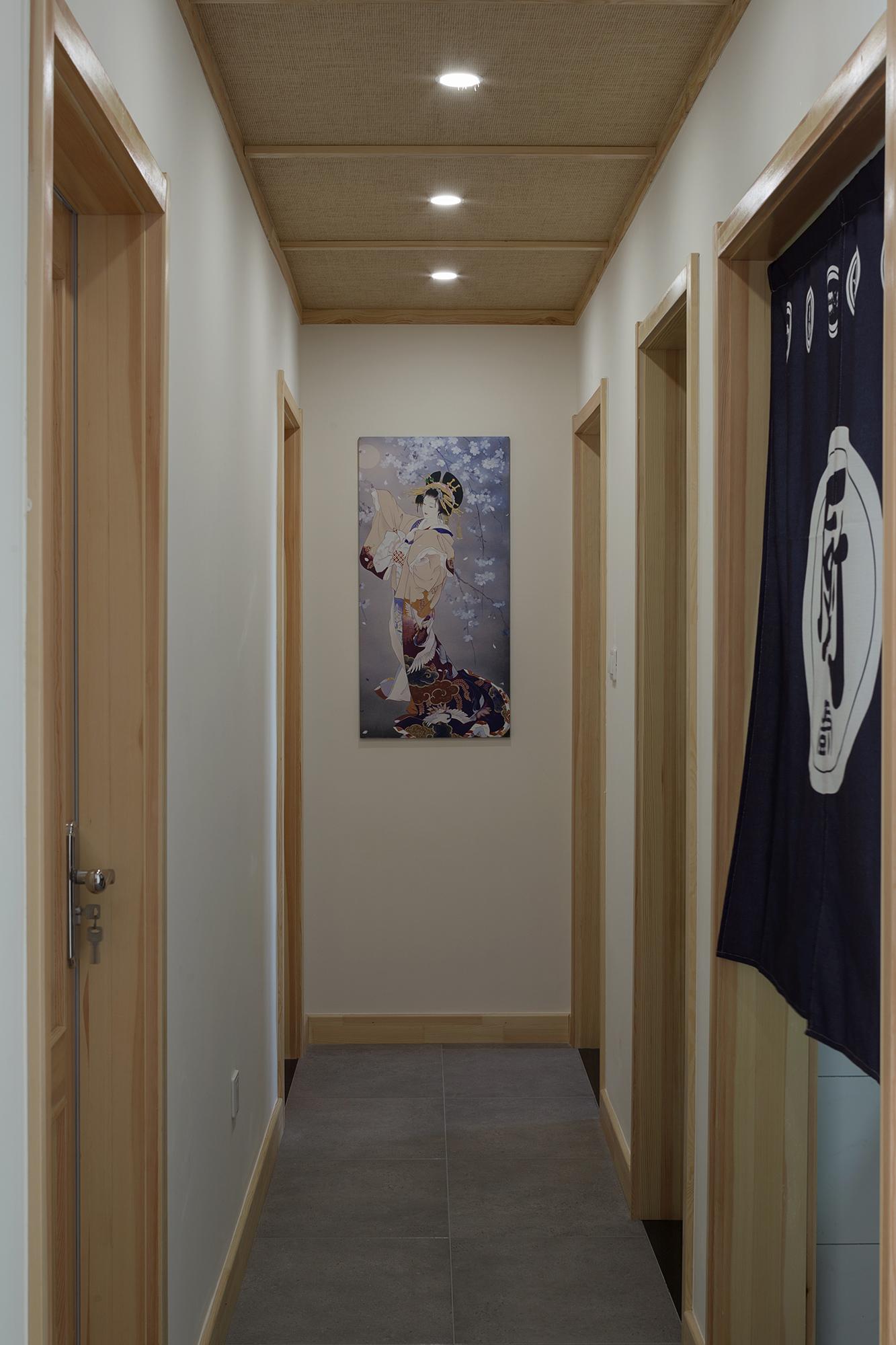 日式风格三居走廊装修效果图