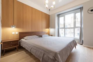 北欧混搭三居卧室装修效果图