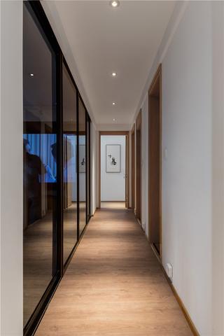 日式北欧风三居走廊装修效果图