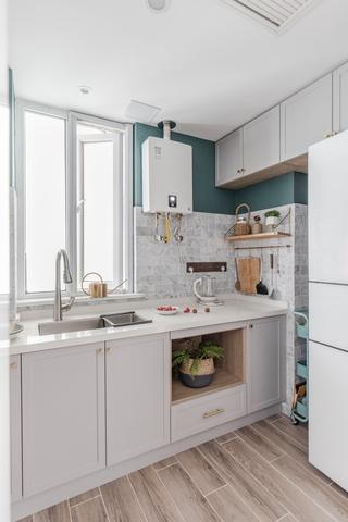 90㎡北欧二居厨房装修效果图