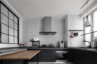 146m²简约风厨房装修效果图