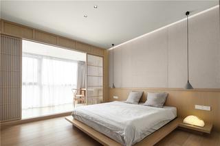 168平现代日式风卧室装修效果图
