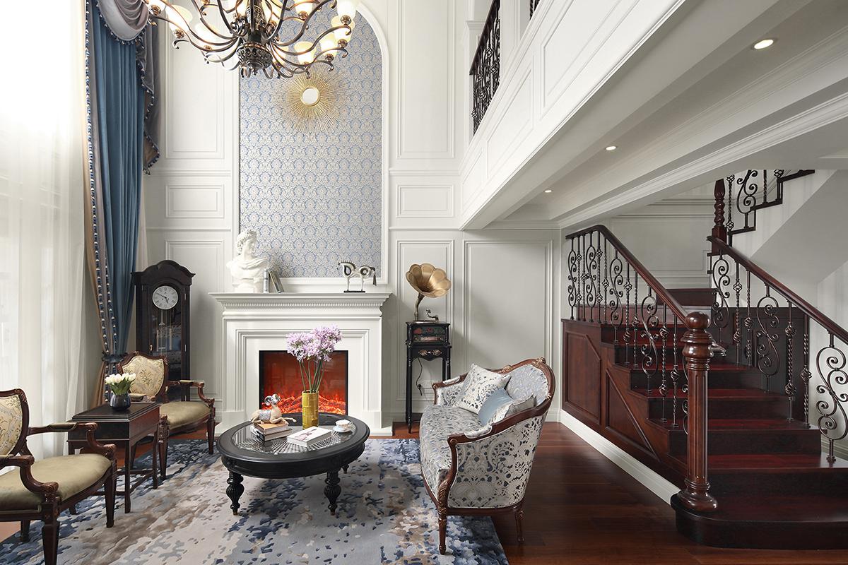 美式风格别墅装修效果图