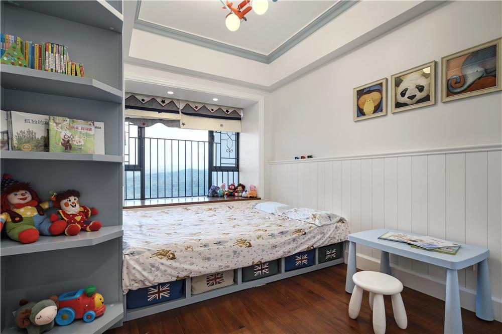 美式风格三居室儿童房装修效果图