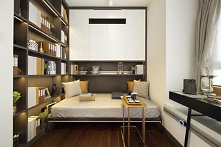 89m²现代三居书房装修效果图