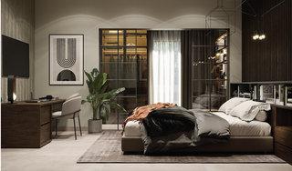 65平米公寓卧室装修效果图