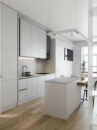 小户型极简公寓厨房每日首存送20