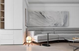 150㎡现代简约沙发墙每日首存送20