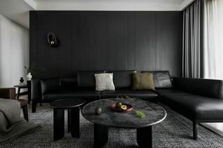 170m²现代简约沙发背景墙装修效果图