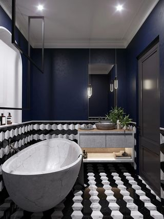 64平米公寓卫生间装修效果图