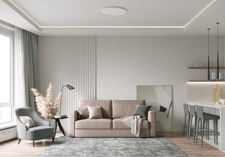 62㎡现代公寓装修效果图
