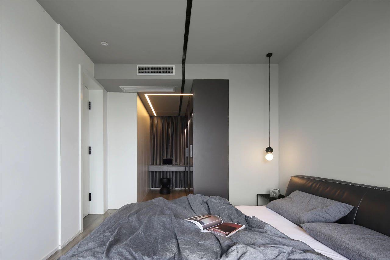 现代风两居卧室装修效果图