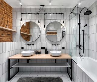 工业风二居室卫生间装修效果图
