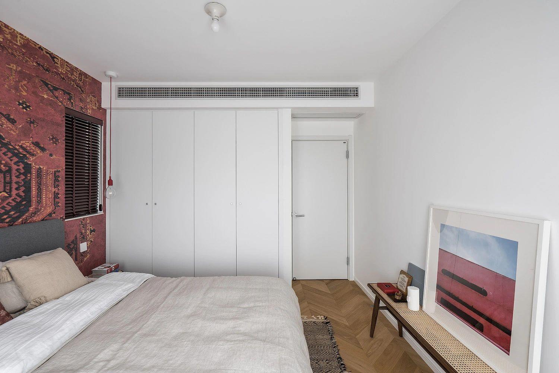 80㎡两居卧室装修效果图