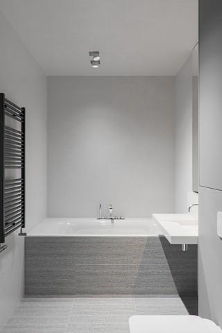 68平高级灰卫生间装修效果图