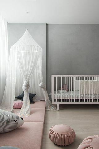 68平高级灰儿童房装修效果图