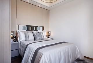 89㎡现代轻奢卧室装修效果图