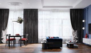 58平米公寓客餐厅装修效果图