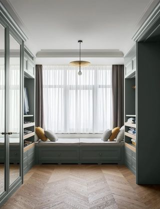 150平米公寓衣帽间装修效果图