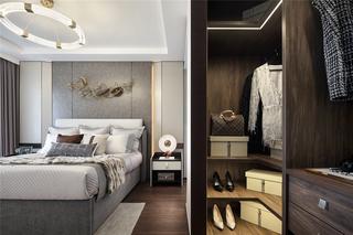 110m²新中式卧室装修效果图