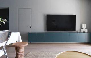 70平三居室电视墙装修效果图