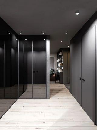 轻工业风公寓走廊装修效果图