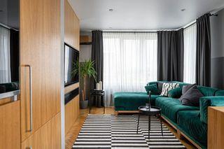 80平米公寓装修效果图