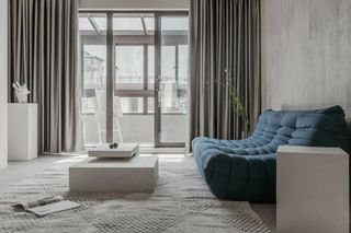 120m²现代简约客厅每日首存送20