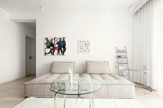 简约风三居室沙发墙装修效果图