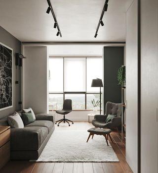 73平米公寓装修效果图