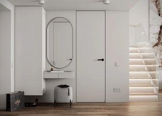 50㎡现代公寓玄关装修效果图