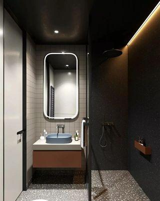 56平公寓卫生间装修效果图