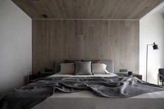 极简现代别墅卧室装修效果图