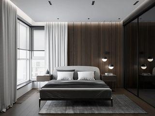 72平现代风卧室装修效果图