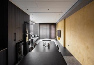 83平两居室装修效果图