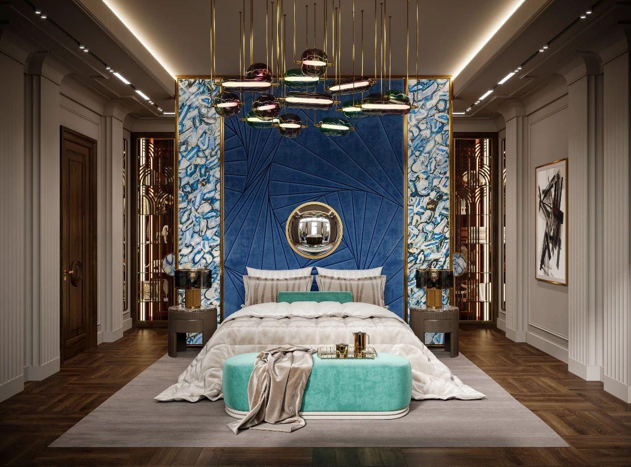 奢华别墅卧室装修效果图