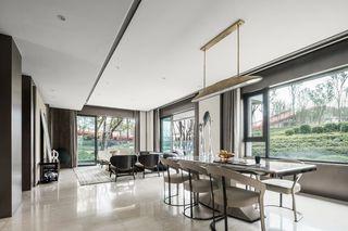 现代轻奢四居室装修效果图