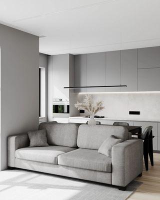 简约一居室公寓装修效果图